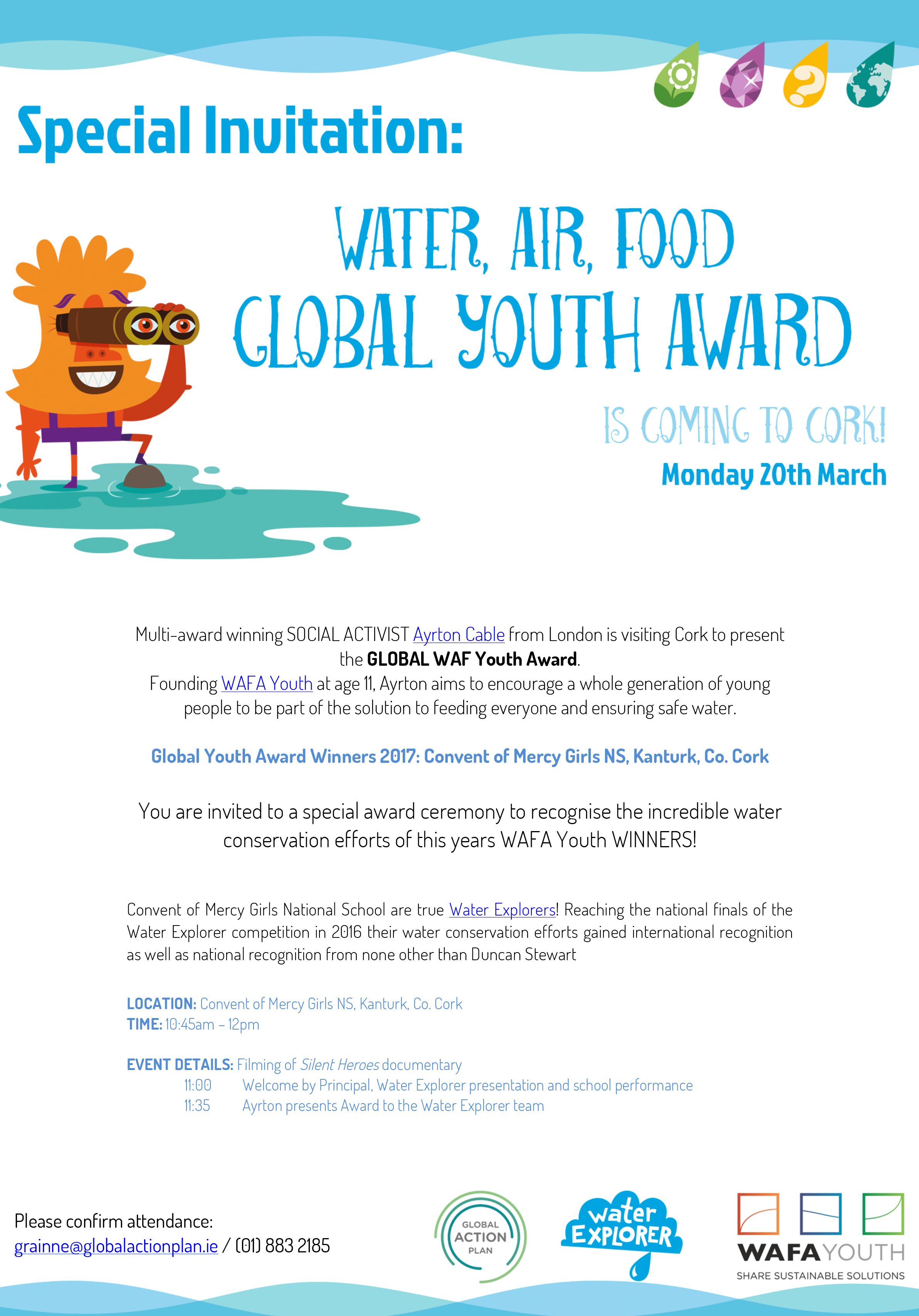 Microsoft Word - Global WAF Youth Award Invitation.docx