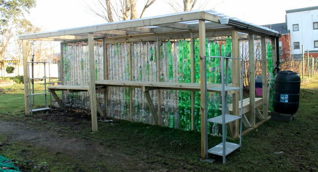 GAP Ireland's Recycled Plastic Bottle Greenhouse